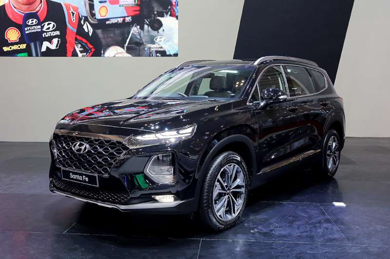 Hyundai All New Santa Fe Tampil Perdana di GIIAS 2018
