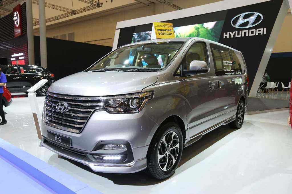"Hyundai H-1 Royale ""Limited Edition"" Tampil Sporty"