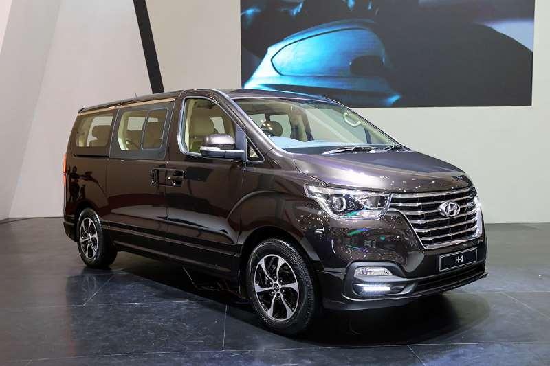 Hyundai New H-1 Pamer Tampang dan Fitur Baru di GIIAS 2018