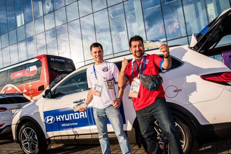Hyundai Serah Terima Kendaraan Untuk Piala Dunia 2018