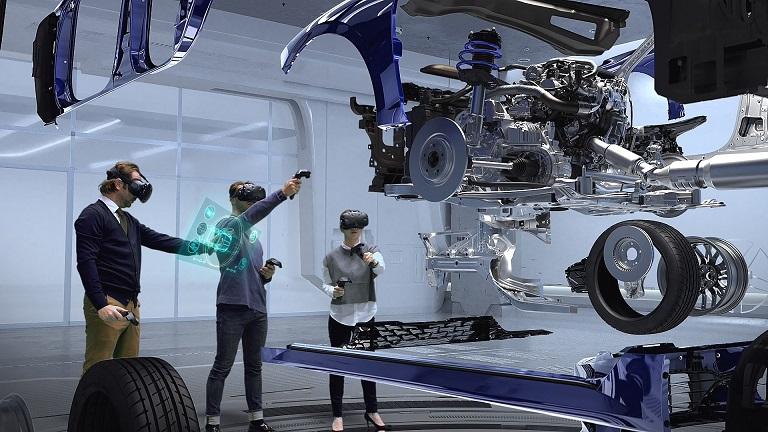 Hyundai Virtual Reality Untuk Desain Mobil Baru