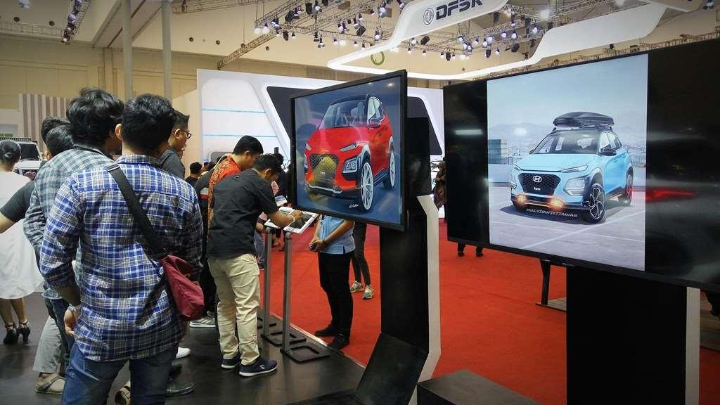 Kona Corner di Booth Hyundai GIIAS 2019