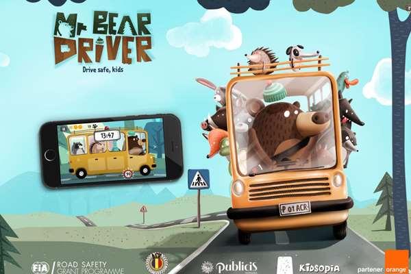 Mr, Bear, Usir Bosan, Anak Jadi Co-Driver