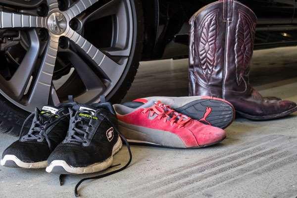 Driving Shoes, Lentur Dan Ngegrip