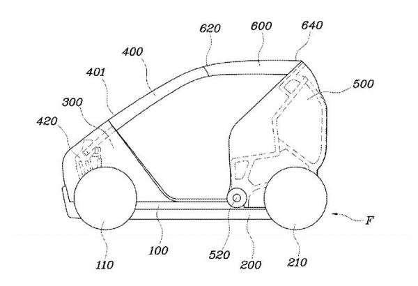 Widihhh…. Hyundai Kembangkan Mobil Lipat!