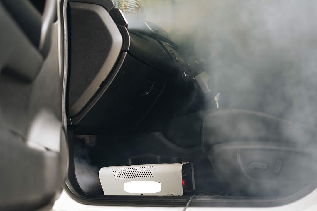 Fogging Kabin Mobil untuk Hilangkan Bakteri