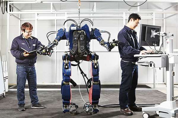 Hyundai Kembangkan Baju Tempur Untuk Militer