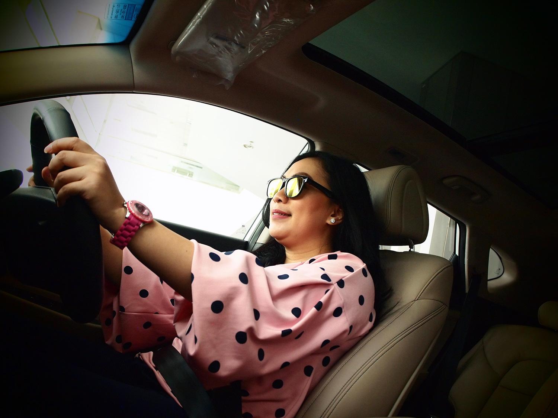 Tetap Nyaman Meski Berkendara di Siang Hari