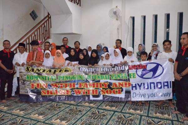 Santa Fe Owner Club Indonesia (SOCI) : Rutin Berbuka Puasa Bersama Anak Yatim