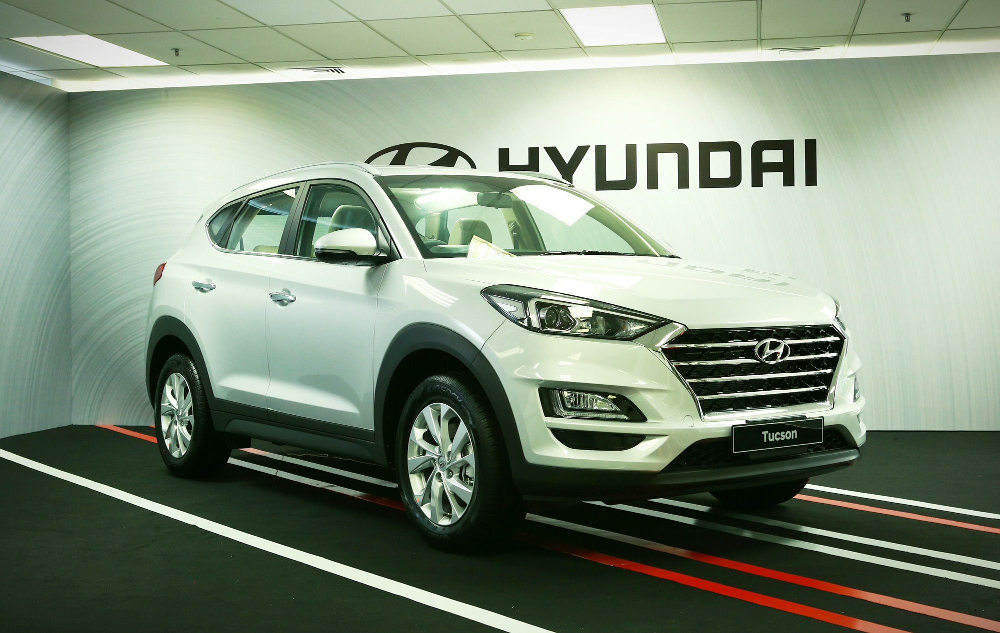 Hyundai Tucson Tampil Dengan Wajah Baru