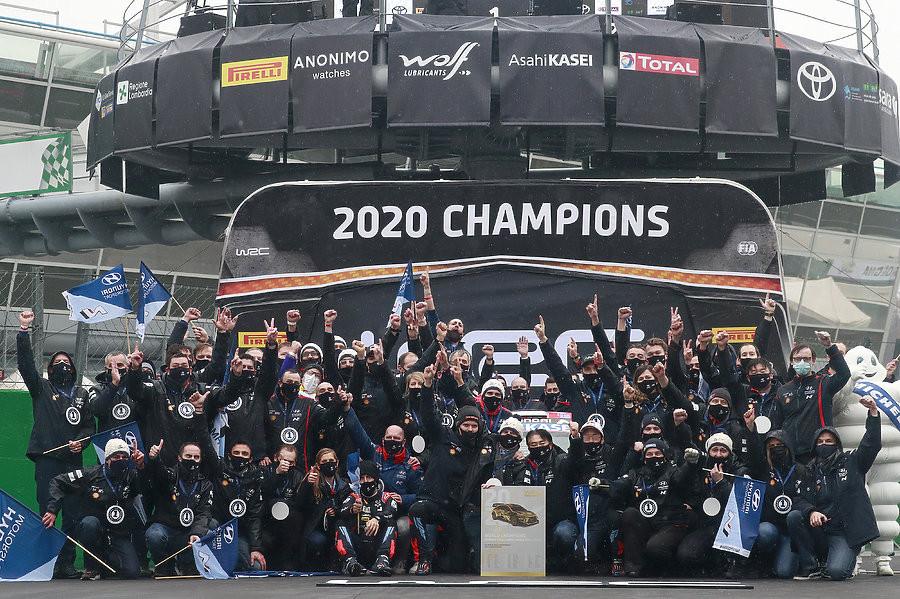 Hyundai Raih Gelar Manufacturer Champions pada Ajang WRC 2020