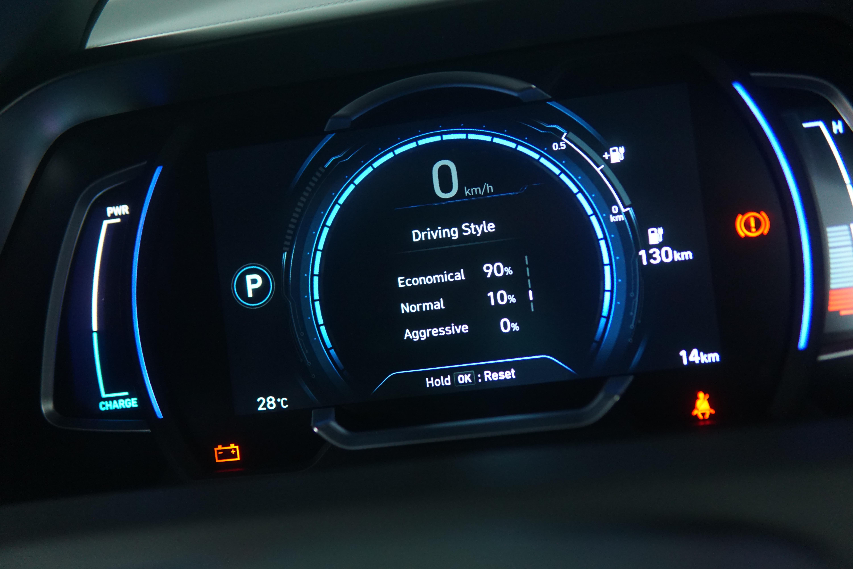 Hyundai Ioniq Electric Mampu Menilai Gaya Mengemudi