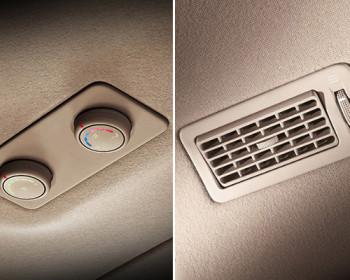 Ventilasi AC Hyundai H-1 Membuat Suhu Lebih Merata