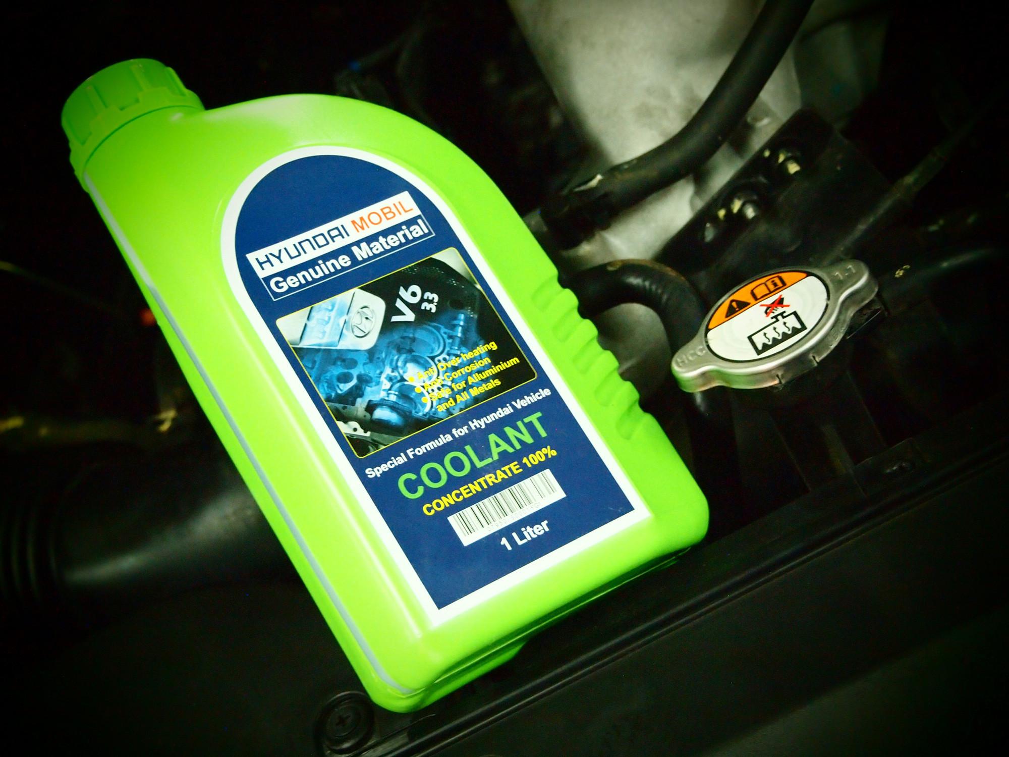 Isi Dengan Radiator Coolant, Hindari Oksidasi Dan Karat
