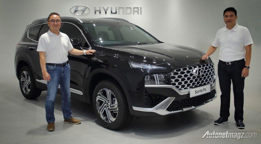 Hyundai Santa Fe 2021 Sapa Indonesia, Lebih Berani dan Modern!