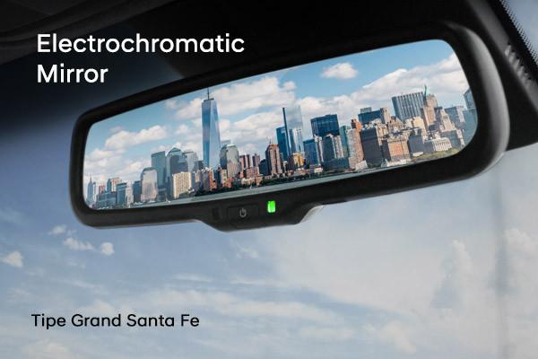 Electrochromatic Mirror Hyundai Santa Fe Permudah Visibilitas Belakang