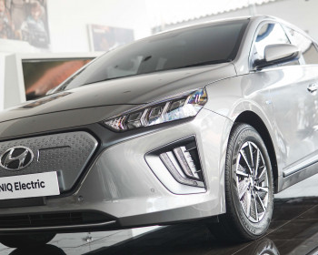 Hambatan Angin Hyundai Ioniq Electric Hanya 0,24 Coefficient Drag