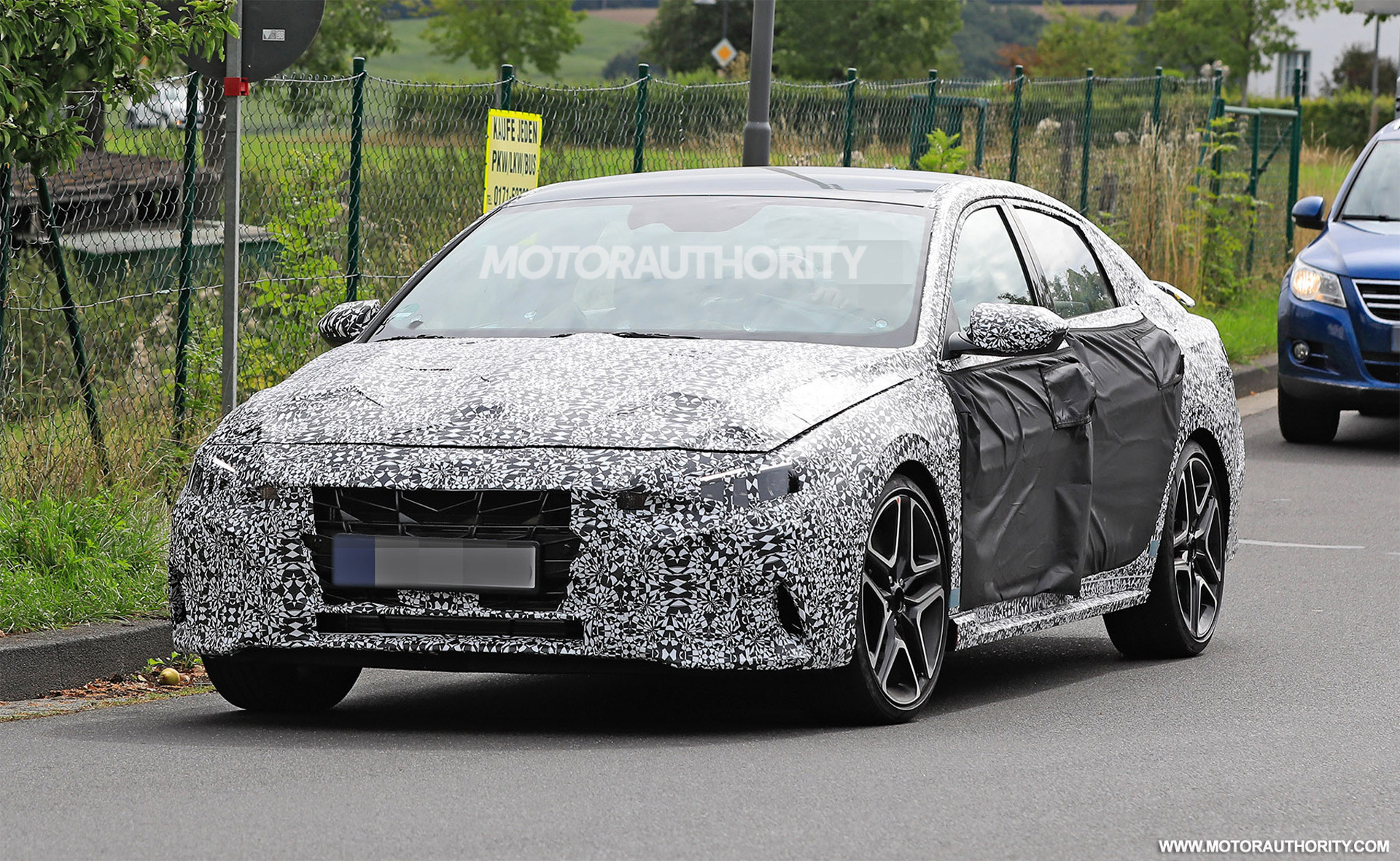 2022 Hyundai Elantra N spy shots: Turning up the performance dial in compact arena