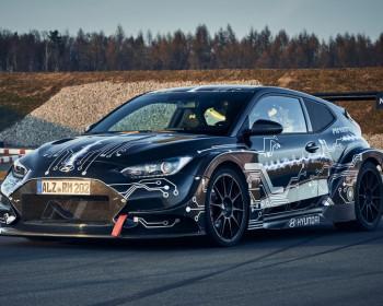 Mobil Konsep Listrik Hyundai RM20e Bertenaga 810 HP Dan Torsi 960 Nm